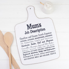 Mum Poem Chopping Board