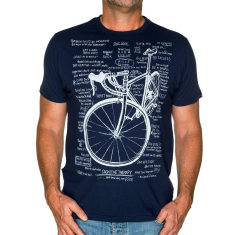 Cognitive therapy men's t-shirt in navy