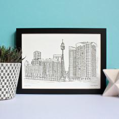 Sydney Tower Print