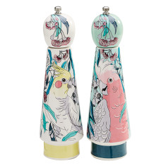Galah & Cockatiel Salt & Pepper Grinder