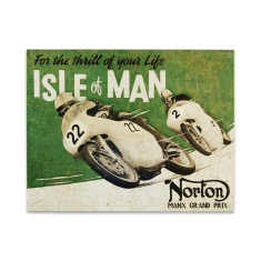 Norton - Isle of Man Sign