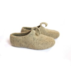 Women's Handmade Eco Wool Slippers