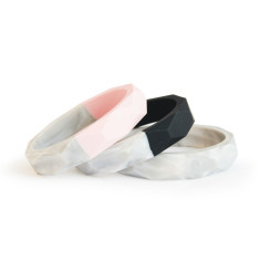 Marble Bubba Chew Silicone Teething Bangles (Various Colours)