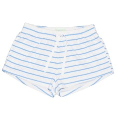 Blue zebra women's boxer shorts