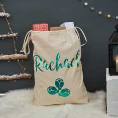 Personalised Brussels Sprout Christmas Sack