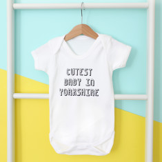 Personalised Cutest Baby In... Onesie