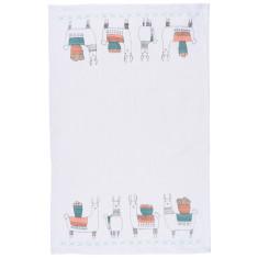 Llamarama Linen Tea Towel
