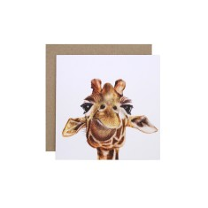 Giraffe gift card (pack of 5)