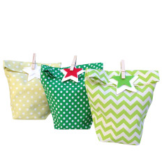 Evergreen Christmas gift bags (set of 3)