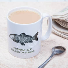 Personalised Fishing Mug