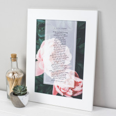 Personalised Mummy Poem Print