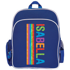 Personalised Backpack - Allsorts Bright