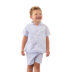 Hammonds red boys pj set