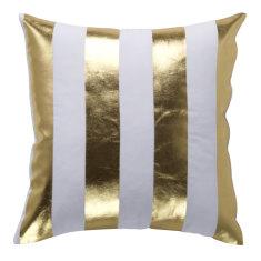 Deck Stripe Gold Indoor Cushion