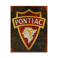 Pontiac 1930 Logo Sign