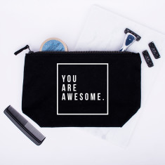 You Are Awesome Men's Wash Bag
