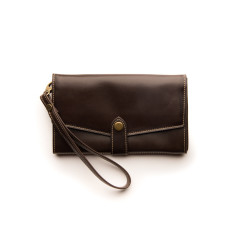 Sophie Classic Collection wallet in chocolate
