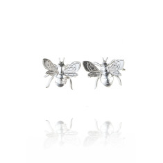 Amanda Coleman - bee stud earrings