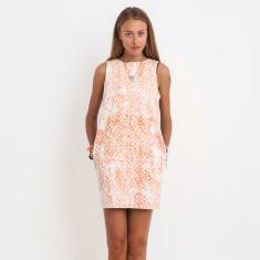 Charlotte Sasak Dress Coral