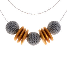 Elegance gold necklace by Mon Bijou (various colours)