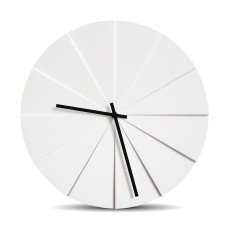 Leff Amsterdam scope white wall clock