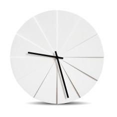 Leff Amsterdam scope white wall clock