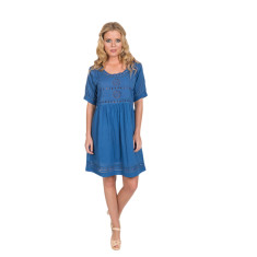 Mandy dress (in classic blue or white)