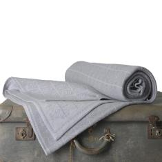 Merino Wool Blanket - Bourbon Greys