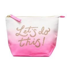 Let's Do This! Ombre Makeup Bag