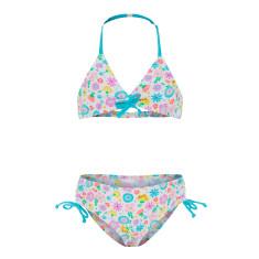 Girls' UPF 50+ Bloom Drawstring Bikini