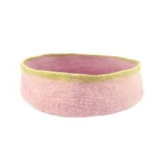 Large felt bowl (Pink or Blue)