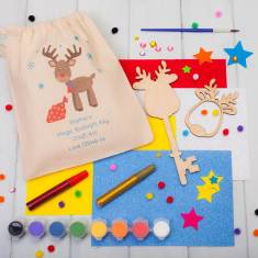Personalised Make Your Own Magic Reindeer Key Craft Kit