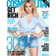 Cosmopolitan 12 month magazine subscription