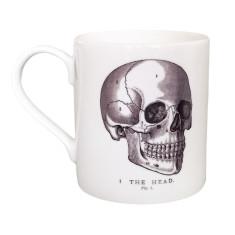 Vintage Skull Bone China Cup