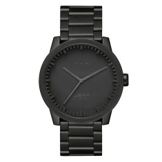 LEFF Amsterdam tube watch S42 black finish