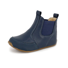 Riding boots in navy