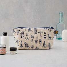 Nautical Cosmetic Bag/Pencil Case