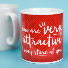 You are very attractive mug