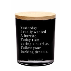 Burrito Dreams Candle