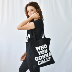 Who You Gonna Call Halloween Trick Or Treat Tote Bag