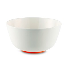 Sorona unbreakable bowls with non-slip ring (pack of 4, various colours)