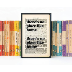 Housewarming gift no place like home Wizard of Oz print
