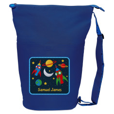Personalised space adventure swim bag