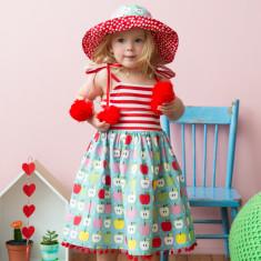 Cinnamon candy apple dress