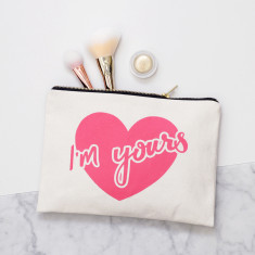 I'm Yours Canvas Pouch