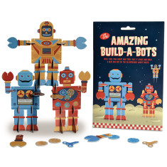 The Amazing Build a Bots Build your own robots kit