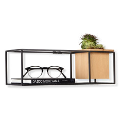 Umbra cubist small floating shelf display