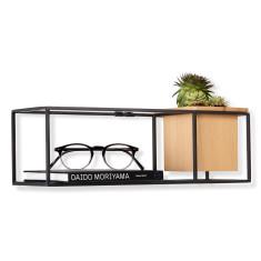 Umbra cubist small floating shelf display