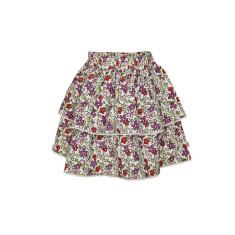 Girls' floral skirt