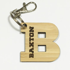 Personalised Initial Bag Tag